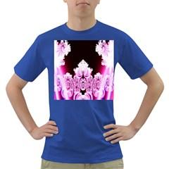 Fractal In Pink Lovely Dark T-Shirt