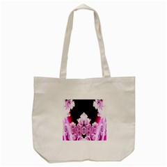 Fractal In Pink Lovely Tote Bag (cream)