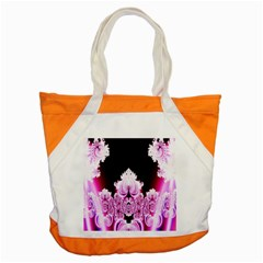 Fractal In Pink Lovely Accent Tote Bag