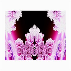 Fractal In Pink Lovely Small Glasses Cloth (2 Side)