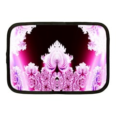 Fractal In Pink Lovely Netbook Case (medium)