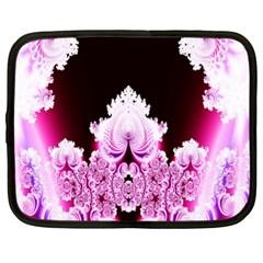Fractal In Pink Lovely Netbook Case (large)