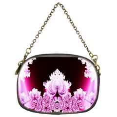 Fractal In Pink Lovely Chain Purses (two Sides)