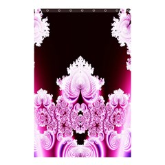 Fractal In Pink Lovely Shower Curtain 48  X 72  (small)