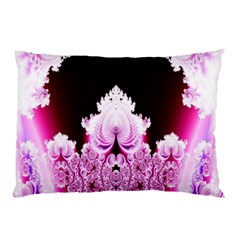 Fractal In Pink Lovely Pillow Case (Two Sides)