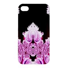 Fractal In Pink Lovely Apple iPhone 4/4S Hardshell Case