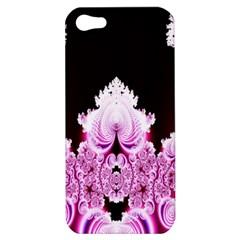 Fractal In Pink Lovely Apple Iphone 5 Hardshell Case