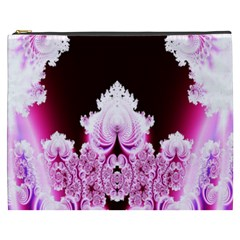 Fractal In Pink Lovely Cosmetic Bag (XXXL)