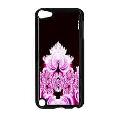 Fractal In Pink Lovely Apple iPod Touch 5 Case (Black)