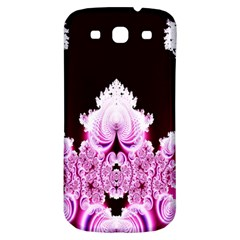 Fractal In Pink Lovely Samsung Galaxy S3 S III Classic Hardshell Back Case