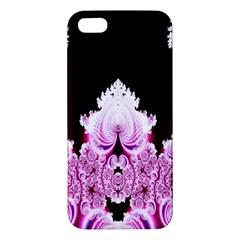 Fractal In Pink Lovely Apple iPhone 5 Premium Hardshell Case