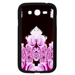 Fractal In Pink Lovely Samsung Galaxy Grand Duos I9082 Case (black)