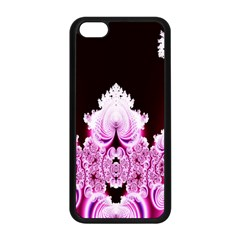 Fractal In Pink Lovely Apple iPhone 5C Seamless Case (Black)