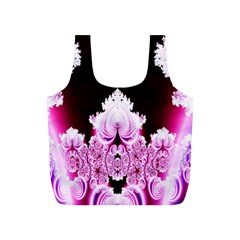 Fractal In Pink Lovely Full Print Recycle Bags (S)