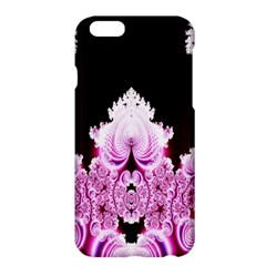 Fractal In Pink Lovely Apple iPhone 6 Plus/6S Plus Hardshell Case
