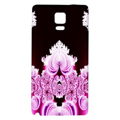 Fractal In Pink Lovely Galaxy Note 4 Back Case