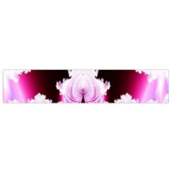 Fractal In Pink Lovely Flano Scarf (Small)
