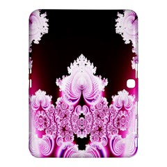 Fractal In Pink Lovely Samsung Galaxy Tab 4 (10.1 ) Hardshell Case