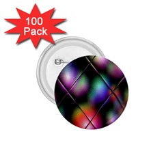Soft Balls In Color Behind Glass Tile 1.75  Buttons (100 pack)