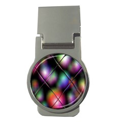 Soft Balls In Color Behind Glass Tile Money Clips (round)