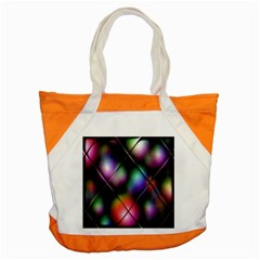 Soft Balls In Color Behind Glass Tile Accent Tote Bag