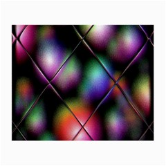 Soft Balls In Color Behind Glass Tile Small Glasses Cloth (2 Side)