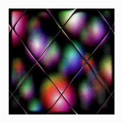Soft Balls In Color Behind Glass Tile Medium Glasses Cloth