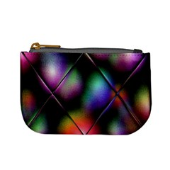 Soft Balls In Color Behind Glass Tile Mini Coin Purses