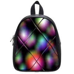 Soft Balls In Color Behind Glass Tile School Bags (small)
