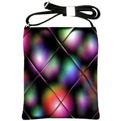 Soft Balls In Color Behind Glass Tile Shoulder Sling Bags