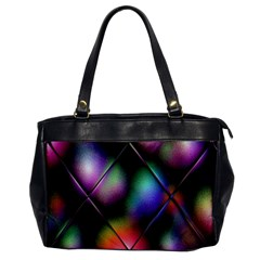 Soft Balls In Color Behind Glass Tile Office Handbags