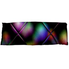 Soft Balls In Color Behind Glass Tile Body Pillow Case (Dakimakura)