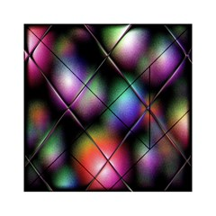 Soft Balls In Color Behind Glass Tile Acrylic Tangram Puzzle (6  x 6 )