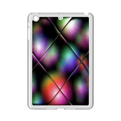 Soft Balls In Color Behind Glass Tile iPad Mini 2 Enamel Coated Cases