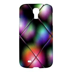Soft Balls In Color Behind Glass Tile Samsung Galaxy S4 I9500/I9505 Hardshell Case