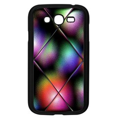 Soft Balls In Color Behind Glass Tile Samsung Galaxy Grand DUOS I9082 Case (Black)