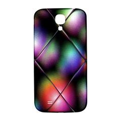 Soft Balls In Color Behind Glass Tile Samsung Galaxy S4 I9500/I9505  Hardshell Back Case