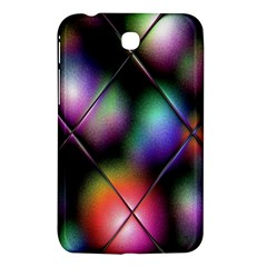 Soft Balls In Color Behind Glass Tile Samsung Galaxy Tab 3 (7 ) P3200 Hardshell Case