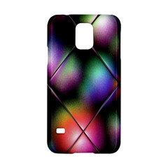 Soft Balls In Color Behind Glass Tile Samsung Galaxy S5 Hardshell Case