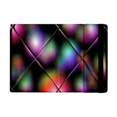 Soft Balls In Color Behind Glass Tile Ipad Mini 2 Flip Cases