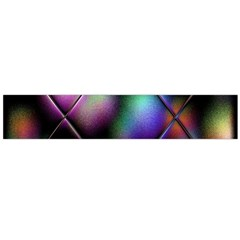 Soft Balls In Color Behind Glass Tile Flano Scarf (Large)