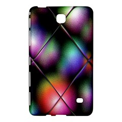 Soft Balls In Color Behind Glass Tile Samsung Galaxy Tab 4 (8 ) Hardshell Case