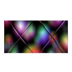 Soft Balls In Color Behind Glass Tile Satin Wrap
