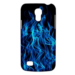 Digitally Created Blue Flames Of Fire Galaxy S4 Mini