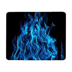 Digitally Created Blue Flames Of Fire Samsung Galaxy Tab Pro 8.4  Flip Case