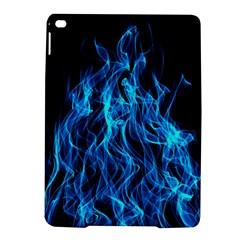 Digitally Created Blue Flames Of Fire iPad Air 2 Hardshell Cases