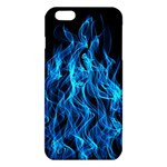 Digitally Created Blue Flames Of Fire iPhone 6 Plus/6S Plus TPU Case Front