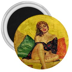 Pin up girl  3  Magnets