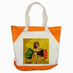 Pin up girl  Accent Tote Bag