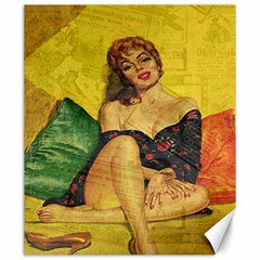 Pin up girl  Canvas 20  x 24